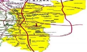 peta jakarta timur